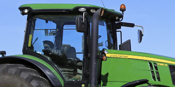Agricultural Vehicle Windscreen Repair